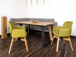 Riedinger Moebel Design Sitzbaenk Massivholz