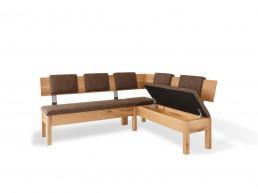 Riedinger Moebel Design Sitzbank Massivholz