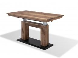 Riedinger Moebel Design Tisch hoehenverstellbar Massivholz