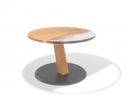 Riedinger Moebel Design Tisch rund Massivholz