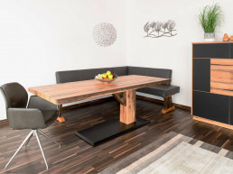Riedinger Moebel Sitzbänke Massivholz